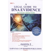 BBC's A Legal Guide to DNA Evidence [in Civil & Criminal Trials] by Jayasimha. S | Karnataka Law Reporter Publications