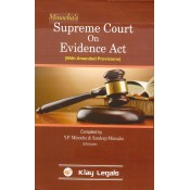 Minocha's Supreme Court on Evidence Act (With Amended Provisions) by Y. P. Minocha & Sandeep Minocha | Klay Legals