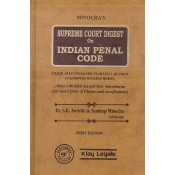 Minocha's Supreme Court Digest on Indian Penal Code [IPC - HB] by Dr. S. K. Awasthi & Sandeep Minocha | Klay Legals