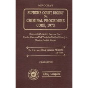 Minocha's Supreme Court Digest on Criminal Procedure Code, 1973 [Crpc-HB] by Dr. S. K. Awasthi & Sandeep Minocha | Klay Legals