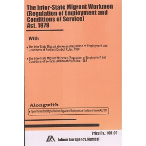Labour Law Agency's Inter-State Migrant Workmen Act, 1979 by S. L. Dwivedi| Bare Act