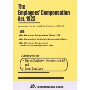 The Employee's Compensation Act, 1923 Bare Act By Labour Law Agency