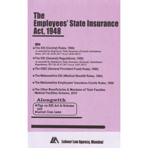 Employees State Insurance Act, 1948 Bare Act by Labour law Agency