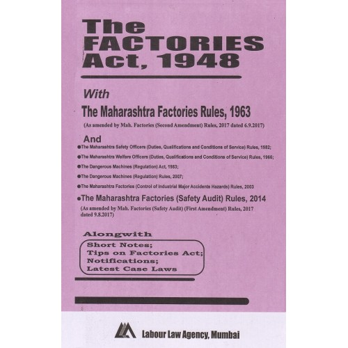 The Factories Act, 1948 Bare Act by Labour Law Agency