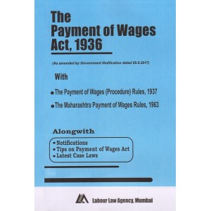 The Payment of Wages Act, 1936 Bare Act by Labour Law Agency