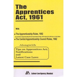 Labour Law Agency's Apprentices Act, 1961 Bare Act by Shri S. L. Dwivedi