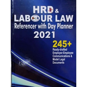 Labour Law Reporter's HRD & Labour Law Referencer with Day Planner 2021| LLR Diary 2021