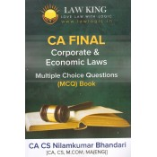 Law King's Corporate & Economic Laws MCQs for CA Intermediate May 2019 Exam by CA CS Nilamkumar Bhandari | Expert Professional Academy Pvt. Ltd.