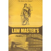Law Master's Family Law II for LL.B By Prof. Santosh D. Bhosale