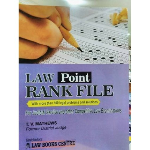 Law Point Rank File (For Judicial Service [JMFC]  & Other Competitive Law Exams)