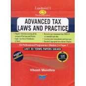 Lawpoint's Advanced Tax Laws & Practice for CS Professional Module 3 Paper 7 December 2018 Exam by Vikash Mundhra