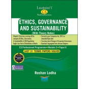 Lawpoint's Ethics, Governance and Sustainability for CS Professional Module 2, Paper 6 June 2019 Exam [Old Syllabus] by Roshan Lodha