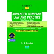 Lawpoint's Advanced Company Law and Practice (ACLP) for CS Professional Module-1, Paper-1 June 2019 Exam [Old Syllabus] by S. K. Pandab