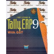 Dnyansankul Prakashan's Tally  ERP 9 with GST with Solved