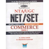 Lawpoint's Competitive Solutions NTA/UGC NET/SET Commerce Paper 2 by Dr. Soheli Ghose & Dr. Sreemoyee Guha Roy