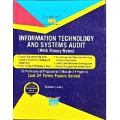 Lawpoint's Information Technology and Systems Audit [ITSA] for CS Professional Module 2, Paper 4 December 2020 Exam [Old Syllabus] By CA. Roshan Lodha