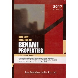 Law Publishers New Law Relating to Benami Properties