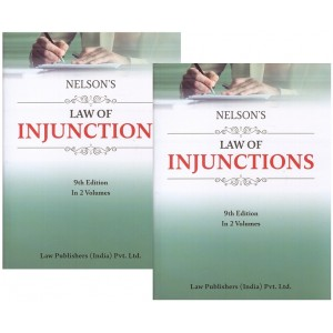 Nelson's Law of Injunctions by Justice A. B. Srivastava, C. S. Lal | Law Publishers (India) Pvt. Ltd.