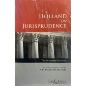 Law & Justice Publishing Co's Holland on Jurisprudence by Sir Thomas Erskine Holland, with a new Introduction by N.R. Madhava Menon