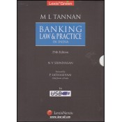 LexisGreen's ebook on M. L. Tannan's Banking Law & Practice in India revised by N. V. Srinivasam
