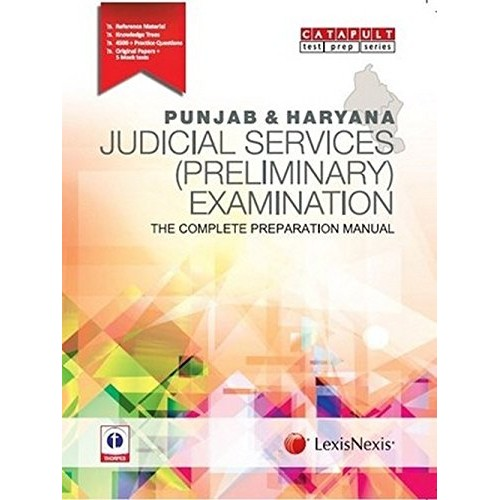 LexisNexis Panjab & Haryana Judicial Services Preliminary Examinations[JMFC] : Complete Preparation Manual