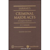LexisNexis - Pulliani and Pulliani's Sarkar's Criminal Major Acts - A Complete Handbook by P. C. Sarkar (HB)