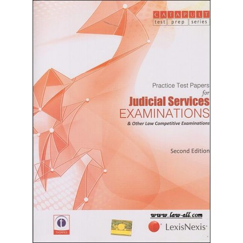 LexisNexis's Judicial Services Examinations & Other Law Competative Exams: Practice Test Papers