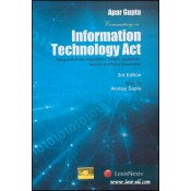 LexisNexis's Commentary on Information Technology Act [IT Act] [HB] by Apar Gupta, Akshay Sapre