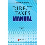 LexisNexis's Chaturvedi & Pithasaria's Direct Taxes Manual (HB 3 Vols.)