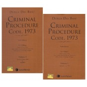 Durga Das Basu's Criminal Procedure Code, 1973 by K. I. Vibhute [2 HB Vols.] for Lexisnexis