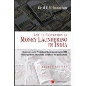 LexisNexis's Law of Prevention of Money Laundering in India by Dr. M. C. Mehanathan