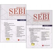 LexisNexis's Manual On SEBI Regulations by Shailashri Bhaskar [2 Vols]