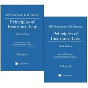 Lexisnexis's Principles of Insurance Law by MN Srinivasan & K. Kannan [2 HB Vols.]
