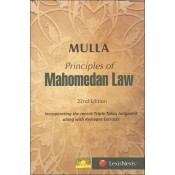 Mulla's Principles Of Mahomedan Law by Dinshaw Fardunji Mulla for Lexisnexis Publication