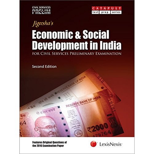 LexisNexis Jigeesha's Economics & Social Development in India for Civil Services Preliminary Examination