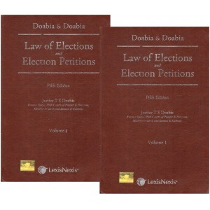 Lexisnexis's Law of Elections and Election Petitions by Doabia & Doabia [2 HB Vols.]