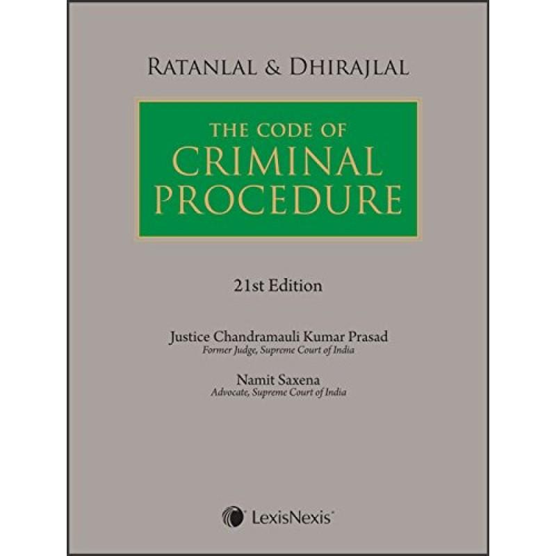 Ratanlal & Dhirajlal's Code of Criminal Procedure (Cr P C