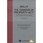 LexisNexis's The Transfer of Property (TP) Act, 1882 [HB] by Sir Dinshaw Fardunji Mulla, Dr. Poonam Pradhan Saxena