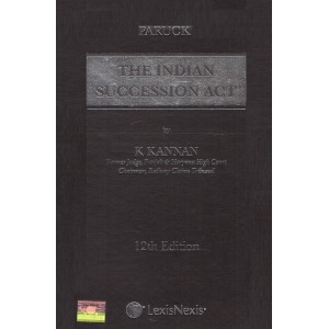 Paruck's Commentary on the Indian Succession Act, 1925 by Justice K. Kannan | Lexisnexis