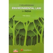 LexisNexis Environmental Law in India for LLB by P. Leelakrishnan
