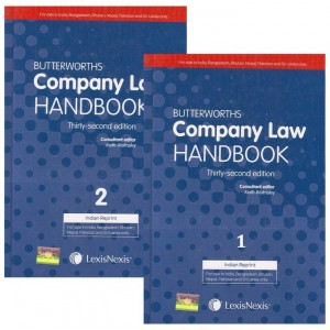LexisNexis Butterworths Company law Handbook by Keith Walmsley [2 HB Volumes]
