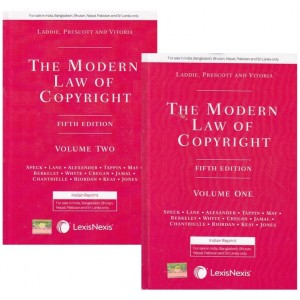 Lexisnexis The Modern Law of Copyright by Laddie, Prescott and Vitoria [2 HB Volumes]