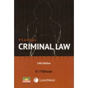 LexisNexis PSA Pillai's Criminal Law by Dr. K. I. Vibhute