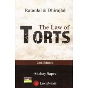 Ratanlal & Dhirajlal's Law of Torts by G. P. Singh, Akshay Sapre | Lexisnexis