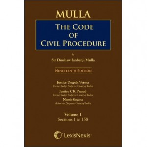 LexisNexis's The Code of Civil Procedure (CPC) by Dinshaw Fardunji Mulla (Set of 3 Volumes)