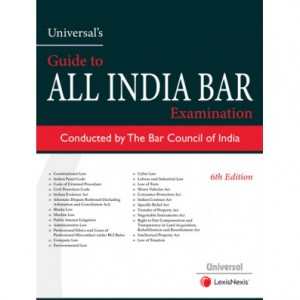 Universal's Guide to All India Bar Examination 2020 [AIBE] conducted by Bar Council of India | LexisNexis