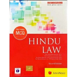 LexisNexis's Short Notes & MCQ's on Hindu Law (Family Law I)