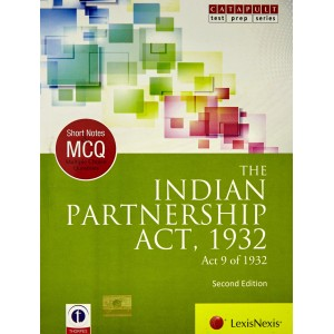 LexisNexis's Short Notes & MCQ's on The Indian Partnership Act, 1932 (Contract II)