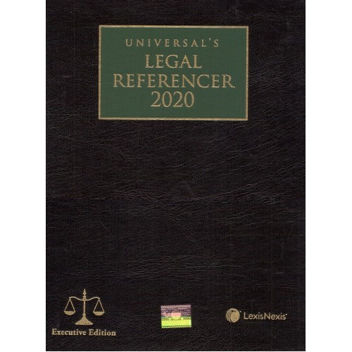 Universal's Legal Referencer 2020 [Executive Edition] | Advocates Law Diary by Lexisnexis
