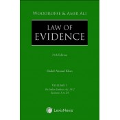 Woodroffe and Amir Ali's Law of Evidence (Set of 4 Vols.) by LexisNexis